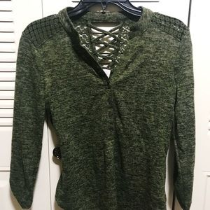 Lace Sweater New